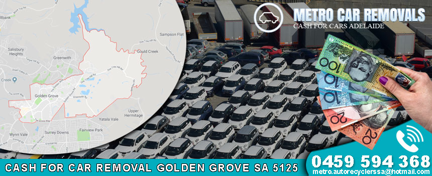Cash For Car Removal Golden Grove SA 5125