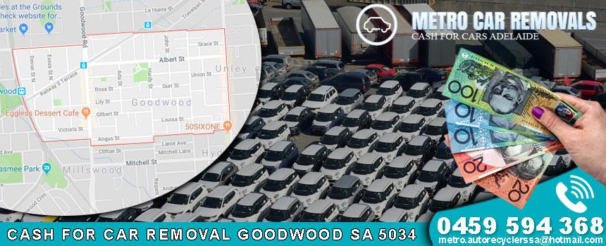 Cash For Car Removal Goodwood SA 5034