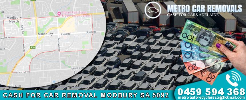 Cash For Car Removal Modbury SA 5092