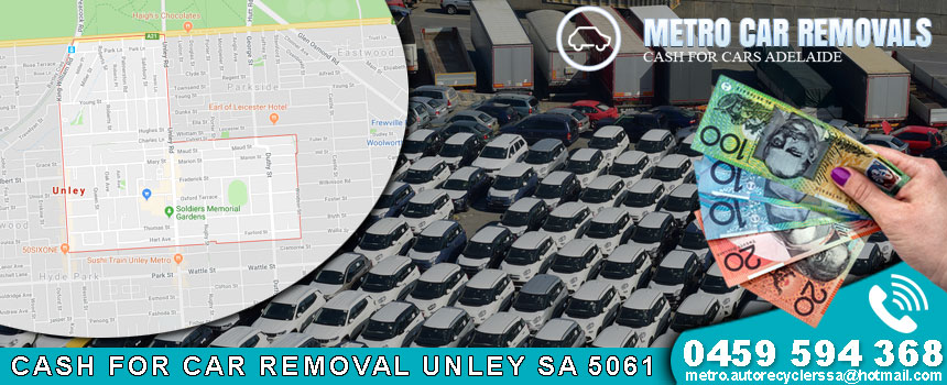 Cash For Car Removal Unley SA 5061