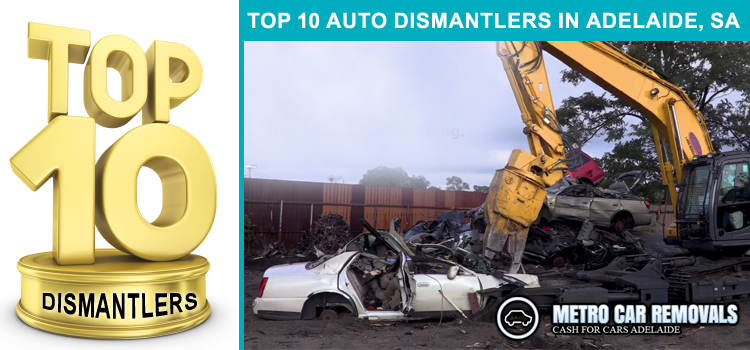 Top 10 Auto Dismantlers in Adelaide, SA