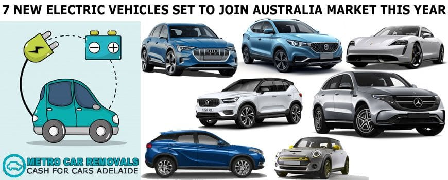 7 New Electric Vehicles Set to Join Australia Market This Year