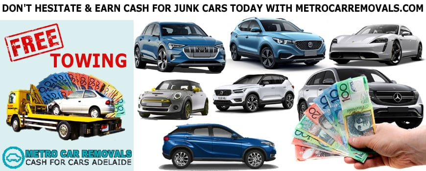 Do Not Hesitate And Earn Cash For Junk Cars Today With Metro Car Removals