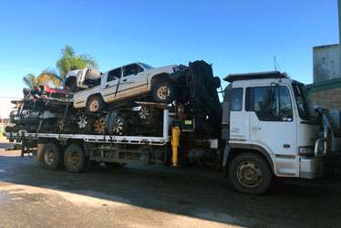 Wrecked Car Removal