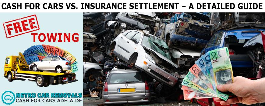 Cash For Cars vs. Insurance Settlement